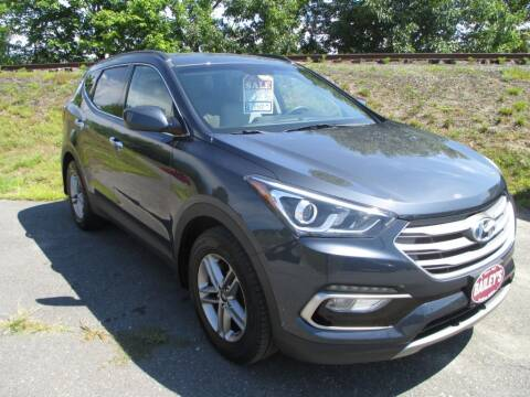 2017 Hyundai Santa Fe Sport for sale at Percy Bailey Auto Sales Inc in Gardiner ME