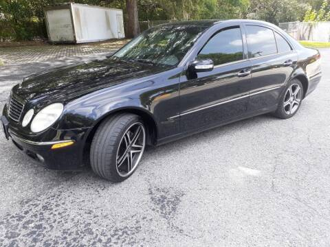 2005 Mercedes-Benz E-Class for sale at Royal Auto Mart in Tampa FL