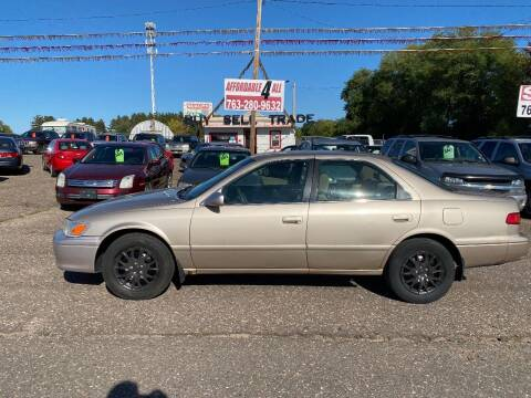2000 Toyota Camry for sale at Affordable 4 All Auto Sales in Elk River MN