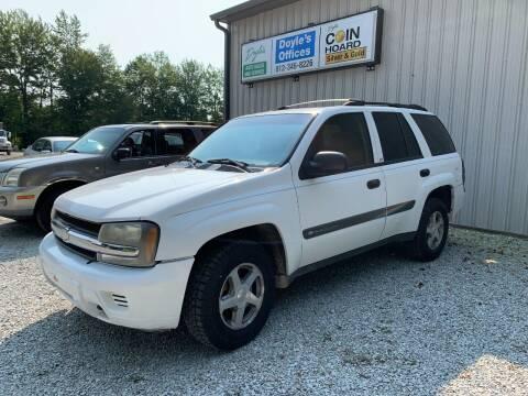 2004 Chevrolet TrailBlazer for sale at Doyle's Auto Sales and Service in North Vernon IN