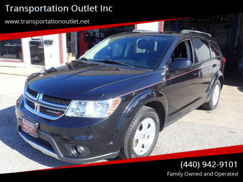 2012 Dodge Journey for sale at Transportation Outlet Inc in Eastlake OH