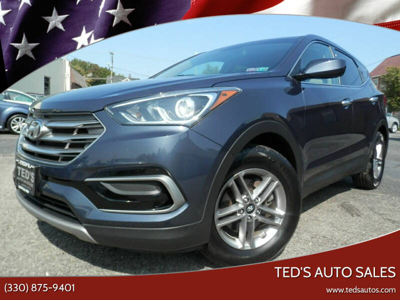 2017 Hyundai Santa Fe Sport for sale at Ted's Auto Sales in Louisville OH