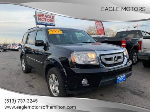2011 Honda Pilot for sale at Eagle Motors in Hamilton OH