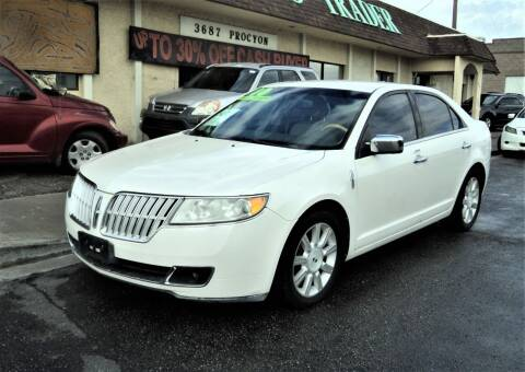 2010 Lincoln MKZ for sale at DESERT AUTO TRADER in Las Vegas NV