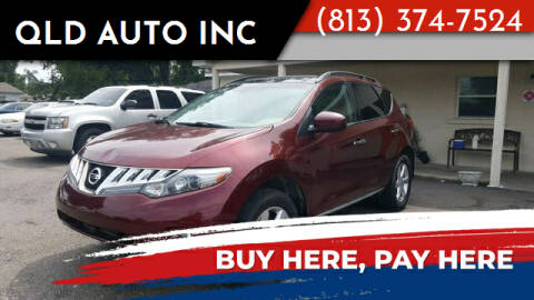 2010 Nissan Murano for sale at QLD AUTO INC in Tampa FL
