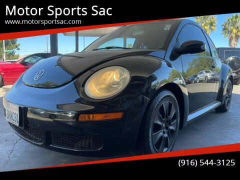 2008 Volkswagen New Beetle for sale at Motor Sports Sac in Sacramento CA