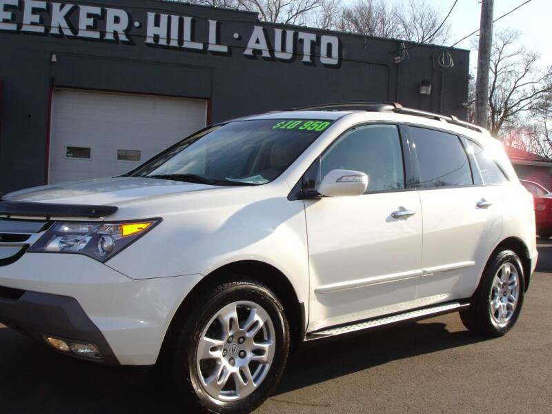 2009 Acura MDX for sale at Meeker Hill Auto Sales in Germantown WI