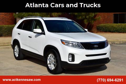 2014 Kia Sorento for sale at Atlanta Cars and Trucks in Kennesaw GA