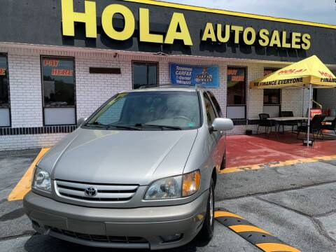 2001 Toyota Sienna for sale at HOLA AUTO SALES CHAMBLEE- BUY HERE PAY HERE - in Atlanta GA