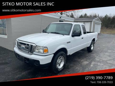 2009 Ford Ranger for sale at SITKO MOTOR SALES INC in Cedar Lake IN