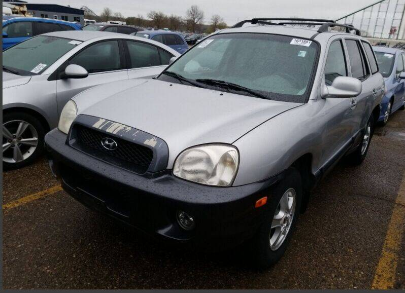2002 Hyundai Santa Fe for sale at Green Light Auto in Sioux Falls SD