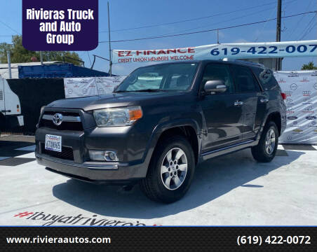 2011 Toyota 4Runner for sale at Rivieras Truck and Auto Group in Chula Vista CA