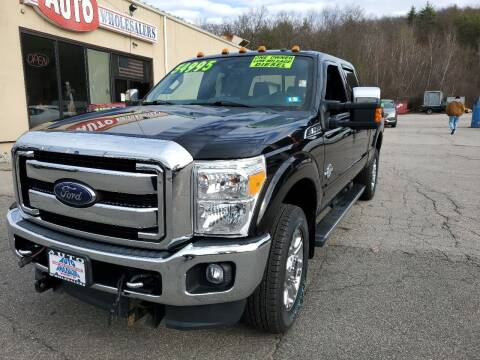 2016 Ford F-350 Super Duty for sale at Auto Wholesalers Of Hooksett in Hooksett NH