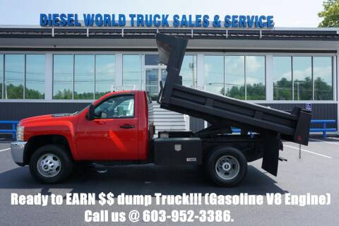 2014 Chevrolet Silverado 3500HD CC for sale at Diesel World Truck Sales - Dump Truck in Plaistow NH