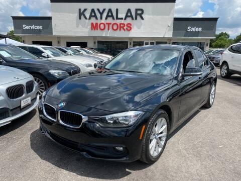 2017 BMW 3 Series for sale at KAYALAR MOTORS in Houston TX