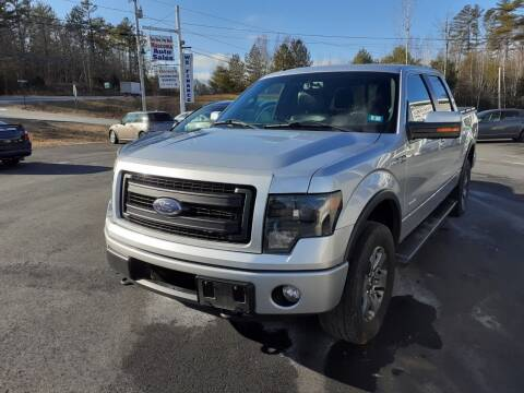 2013 Ford F-150 for sale at Mascoma Auto INC in Canaan NH