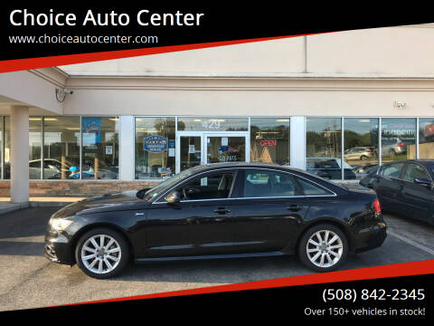 2013 Audi A6 for sale at Choice Auto Center in Shrewsbury MA