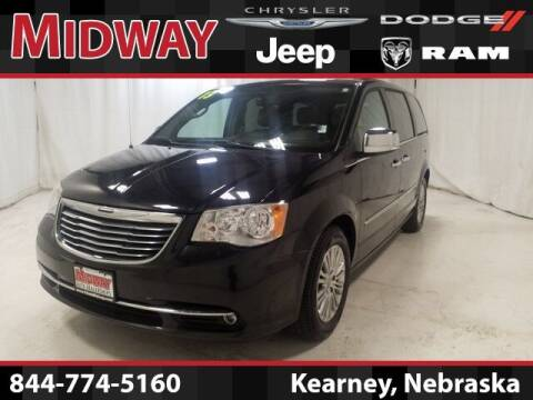 2013 Chrysler Town and Country for sale at MIDWAY CHRYSLER DODGE JEEP RAM in Kearney NE