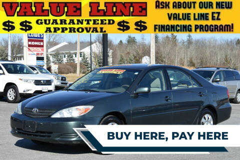 2004 Toyota Camry for sale at Broadway Garage of Columbia County Inc. in Hudson NY