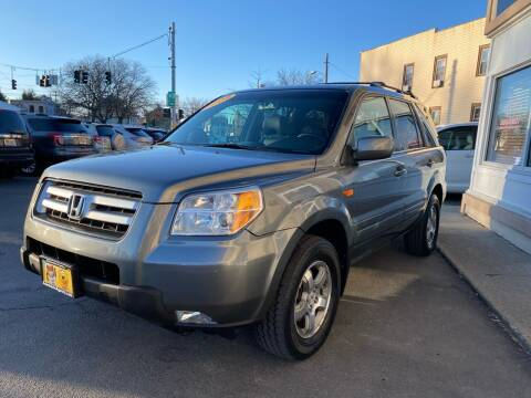 2008 Honda Pilot for sale at ADAM AUTO AGENCY in Rensselaer NY