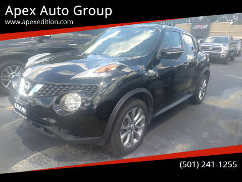 2015 Nissan JUKE for sale at Apex Auto Group in Cabot AR