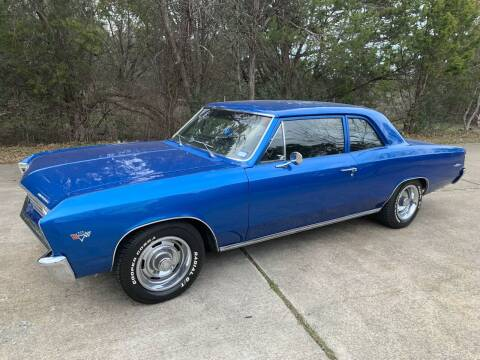1967 Chevrolet Chevelle for sale at TROPHY MOTORS in New Braunfels TX