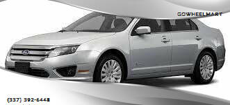 2011 Ford Fusion for sale at GOWHEELMART in Leesville LA