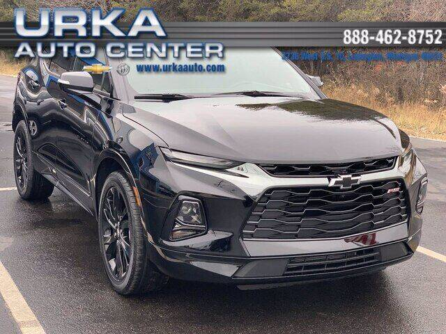 2021 Chevrolet Blazer for sale at Urka Auto Center in Ludington MI