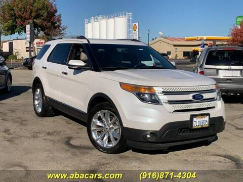 2015 Ford Explorer for sale at About New Auto Sales in Lincoln CA