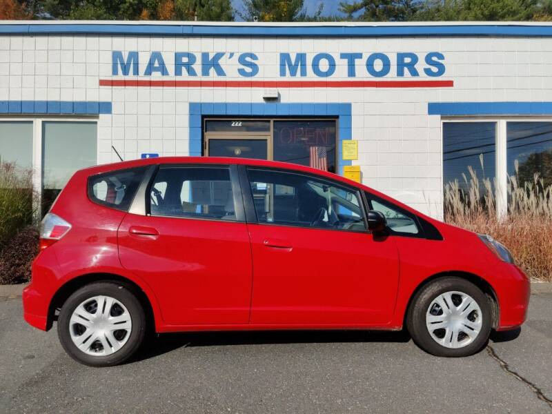2010 Honda Fit for sale at Mark's Motors in Northampton MA