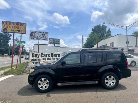 2007 Nissan Pathfinder for sale at Cherokee Auto Sales in Knoxville TN