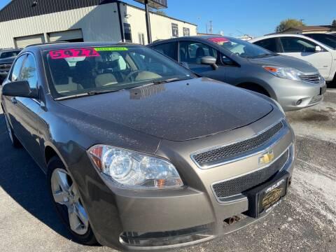 2011 Chevrolet Malibu for sale at BELOW BOOK AUTO SALES in Idaho Falls ID