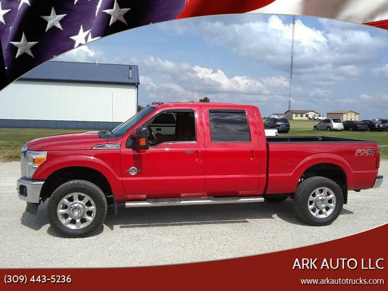 2013 Ford F-350 Super Duty for sale at ARK AUTO LLC in Roanoke IL