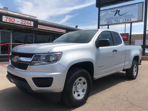 2018 Chevrolet Colorado for sale at NORRIS AUTO SALES in Oklahoma City OK