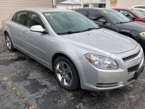 2012 Chevrolet Malibu for sale at Two Rivers Auto Sales Corp. in South Bend IN