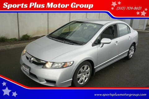 2010 Honda Civic for sale at Sports Plus Motor Group LLC in Sunnyvale CA