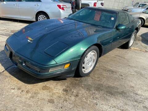 1993 Chevrolet Corvette for sale at White River Auto Sales in New Rochelle NY