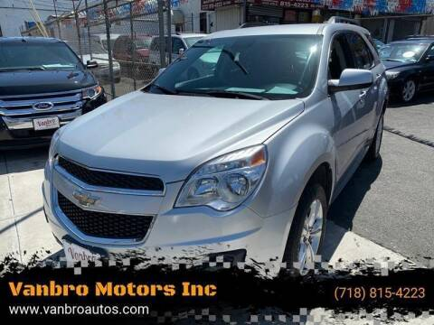 2015 Chevrolet Equinox for sale at Vanbro Motors Inc in Staten Island NY