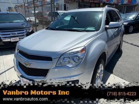 2015 Chevrolet Equinox for sale at Vanbro Motors Inc in Staten Island NY