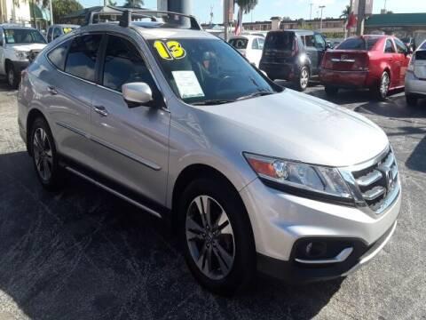 2013 Honda Crosstour for sale at Brascar Auto Sales in Pompano Beach FL
