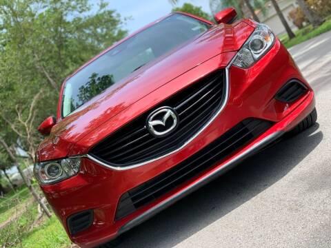 2017 Mazda MAZDA6 for sale at HIGH PERFORMANCE MOTORS in Hollywood FL