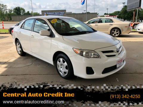 2011 Toyota Corolla for sale at Central Auto Credit Inc in Kansas City KS