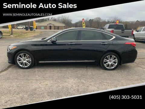 2015 Hyundai Genesis for sale at Seminole Auto Sales in Seminole OK