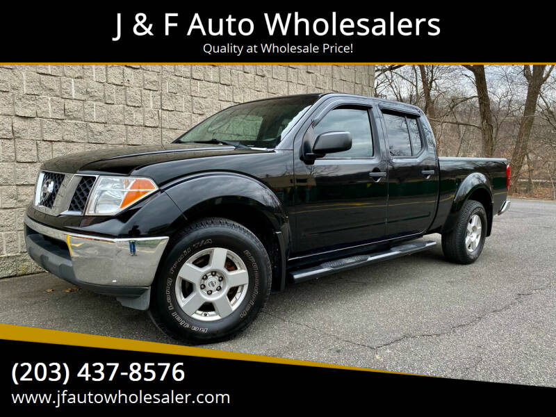 2008 Nissan Frontier for sale at J & F Auto Wholesalers in Waterbury CT