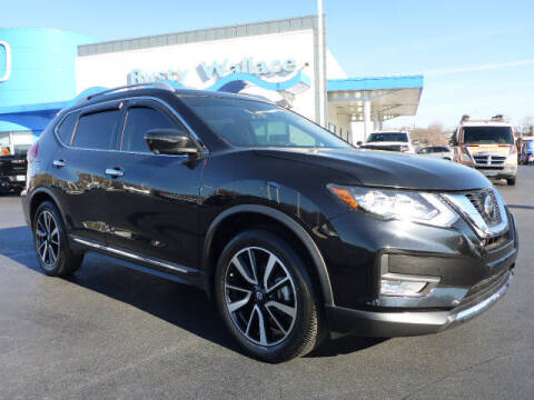 2018 Nissan Rogue for sale at RUSTY WALLACE HONDA in Knoxville TN