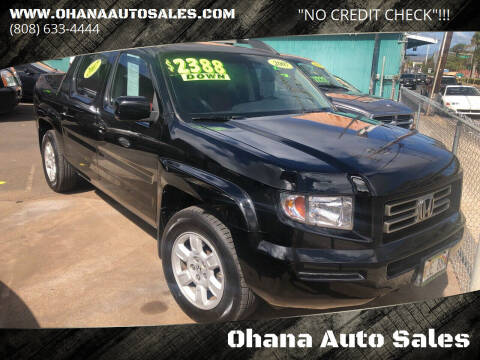 2007 Honda Ridgeline for sale at Ohana Auto Sales in Wailuku HI