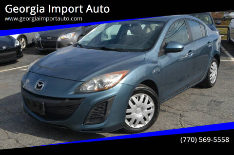 2010 Mazda MAZDA3 for sale at Georgia Import Auto in Alpharetta GA