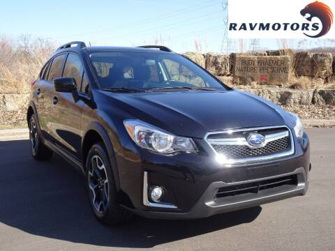 2016 Subaru Crosstrek for sale at RAVMOTORS in Burnsville MN