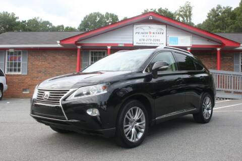 2013 Lexus RX 350 for sale at Peach State Motors Inc in Acworth GA