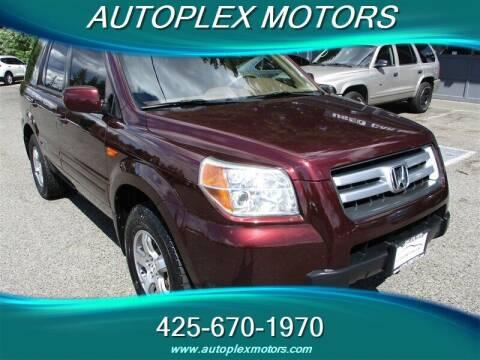 2007 Honda Pilot for sale at Autoplex Motors in Lynnwood WA